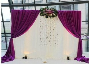Shop Popular Purple Wedding Decorations from China | Aliexpress