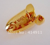 High quality Jewelry Charm flower laser Finger Nails Rings Gold Plated  women nightclub nail ring