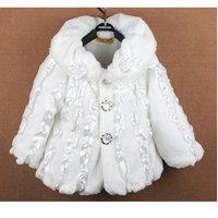 Free shipping 3pcs/lot children winter jacket girls coat/shawls