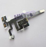 Headphone Audio Jack Ribbon Volume Power Flex cable For iPhone 4S 4GS D0120 P