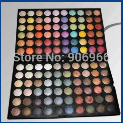 Best selling! 120 Color Eyeshadow Palette Makeup Powder Eye shadow Palette High quality 1Pcs/Lot Free shipping(China (Mainland))
