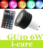 Innovative Memorize Controller + Newest RGB GU10 6W Led Bulb Light 2 Million Color Change 110-240V