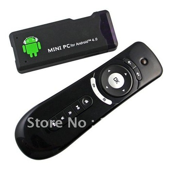 Wireless Air Flying Mouse T2 for PC Android TV Media Player+ MK802+ Mini TV Box  free shipping wholesale # 160173
