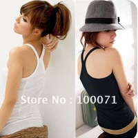 Womens Ladies Spaghetti Strap Basic Tank Top Cami Camisole  [14183|99|01]