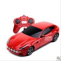 1:24  FF rc dynamic design car model toy , children remote control car , kids birthday gift + free shipping