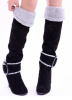 Free shipping knee boots high heel shoes winter fashion sexy warm long women boot pumps P609 on sale size 34-43
