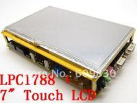 "free shipping, New arrival,Cortex-M3 LPC1788 HY-LPC1788 development board, include 7"" touch LCD,include MINI JTAG emulator"