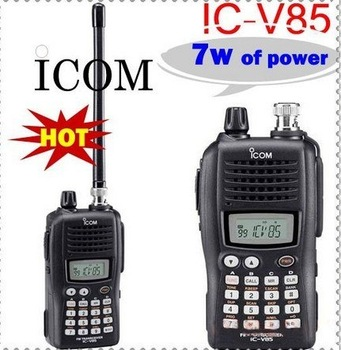 Two way radio Handheld transceiver ICOM IC-V85 VHF(136-174MHz) 2-way radio+free shipping