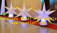 Hot sale 1.5m inflatable lighting star cone