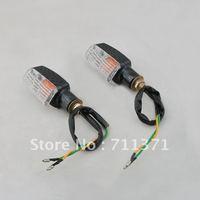 4PCS  Motorcycle Turn Signal Light Bulbs Indicator Orange
