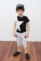 Baby boys Suits kids children  t shirt  + shorts  pants casual 2 pc set 1015 B IT