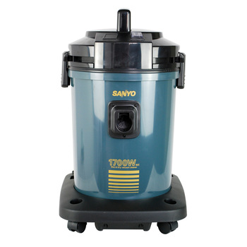 Sanyo commercial industrial vacuum cleaner bsc-wdb801 wet-and-dry 1700w carpet floor tiles