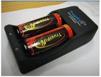 Free Shipping Wholesale Trustfire Rechargeable protection 2x 26650 3.7v 5000mAh Battery Flashlight Torch + Charger