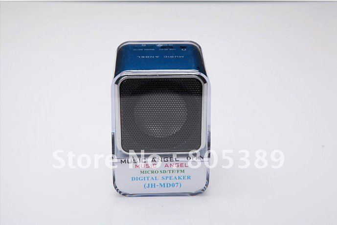 Music Angel MD07 portable speaker,card speaker, mini speaker support FM Radio,wholesale(China (Mainland))