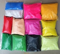 color sand for sand art, wedding decoration, garden decoration 200g/bag