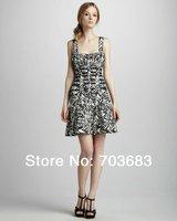 2014 cheap halter stock spendex celebrity party bandage dress