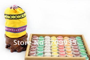 50pcs puer tuocha 6 different flavors shu puer cake menghai puerh tea free shipping