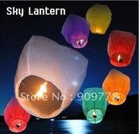 Free shipping by EMS! Sky Lantern, Chinese Lantern, Flying Wishing Lantern, 100pcs/lot