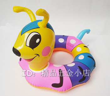 Small ant swim ring cartoon child inflatable boat baby swimming toys 0.16kg