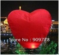 Heart Shaped Chinese Sky Lantern,Flying Lantern,Wedding/Birthday Sky Lantern, 25pcs/lot