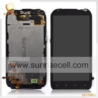 For HTC Sensation 4G Pyramid G14 LCD Display + Touch Screen Digitizer + Frame Full Set Assembly, 10pcs/lot DHL free shipping