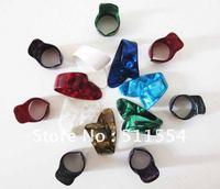Free shipping 20pcs/lot assorted color finger picks celluloid guitar thumb picks plectrums
