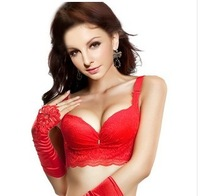Бюстгальтер large cup seamless thickening push up bride no shoulder tape summer separate bra, coslet, bride's Convertible Straps