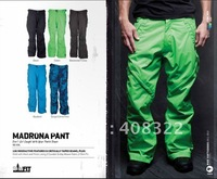 NEW ARRIVE &IN STOCK!!!DIFFERENT COLOR Snowboard pant / ski pant for Men S-M-L-XL Waterproof & Breathable+high quality fabric