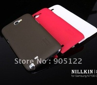 Free shipping original NILLKIN Case Super shield case for Sansung N7100 (GALAXY Note2)