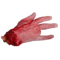 Halloween supplies haunted props blood hand free shipping