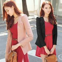2012 new Korea Slim small suit female Korean women's small suit suit coat jacket Autumn