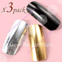 Free Shipping - Brand New Rainbow Brilliance Shiny Self Adhesive Minx Styel Nail Sticker NEW Nail Fashion Film NA459