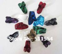 Wholesale 150pcs/lot mixed color heavy size guitar finger thumb picks