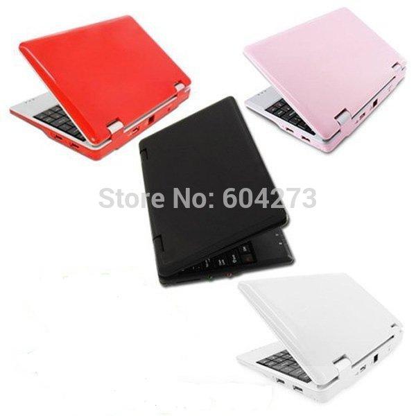 Hotsale ! 1pcs/lot 7 inch EPC mini laptop Android 4.1 Netbook 512MB/4GB DDRIII VIA8850 CORTEX A9 1.2Ghz, camera(China (Mainland))