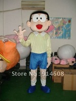 Adult Size Doraemon Nobi Nobita Mascot Costumes Character party stage Cartoon Halloween Fancy Dress Suit Free Shipping
