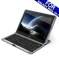 New Aluminium Bluetooth 3.0 Keyboard For Samsung Galaxy Note 10.1 N8000 Tablet PC Free Shipping