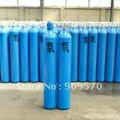 Industrial oxygen bottle Seamless steel gas cylinders Steel cylinders 40 litre(China (Mainland))