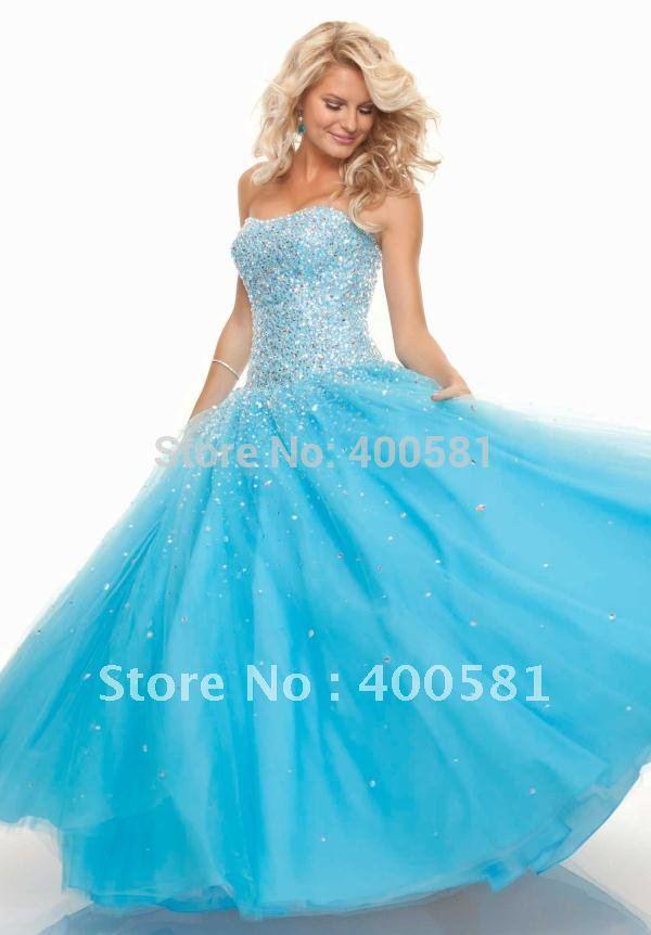 Turmec » pink ball gown prom dresses 2013