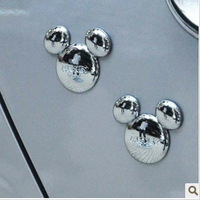 3 car metal stickers 3d three-dimensional stickers MICKEY car accessories