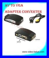CCTV BNC / AV to VGA Adapter Converter
