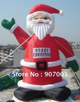 DD17  10mH 33'  Huge Commercial Airblown Inflatable Santa Claus Xma Party Decoration + 1 CE/UL Blower + Repair Kids