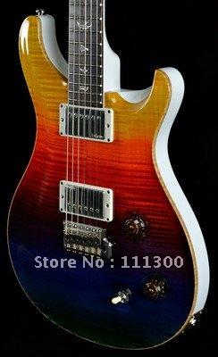 3 color finish mahogany 2 pick ups electric guitar free shipping free strings(China (Mainland))