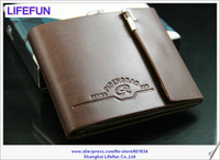 2013 new men ladies GENUINE LEATHER long Fashion card holder wallets Purse LF06430