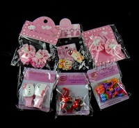 19 USD Free Shipping Resin Hair Accessories, hello kitty clip & cherry shape claw clip, Sold by Group