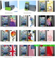 CUTE CARTOON FULL BODY SCREEN PROTECTORS FOR iPHONE 5 5G , LOTS OF STYLE , FREE SHIPPING