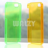 Clear crystal case, Top quality material, no scratch, good flexibility For iphone5 25pcs/lot a lot