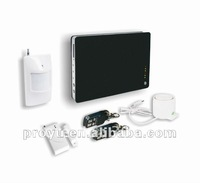 GSM Alarm System smart home system with 2 wired and 12 wireless zones PY-GSM1