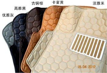 Sallei huge leather special waterproof wear-resistant car mat
