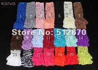 factory direct sales top sale ruffle Baby lace leg warmers