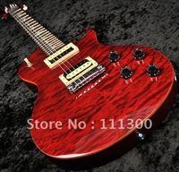 Black Cherry Quilt Top Electric Guitar